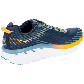 Hoka One One Clifton 5 Zapatillas running Hombre, black iris/storm blue